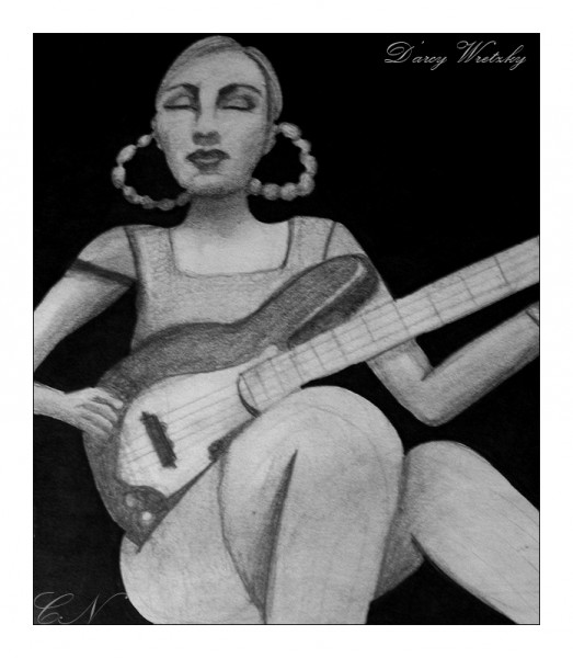 D'arcy Plays Her Bass