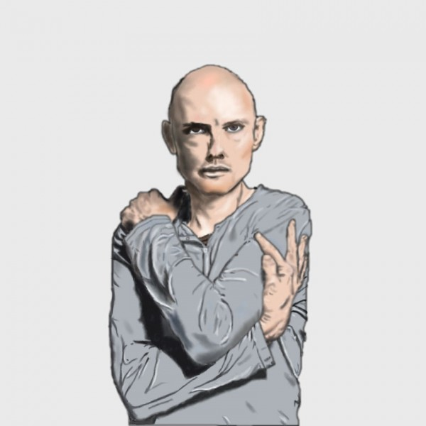Billy Corgan in Grey